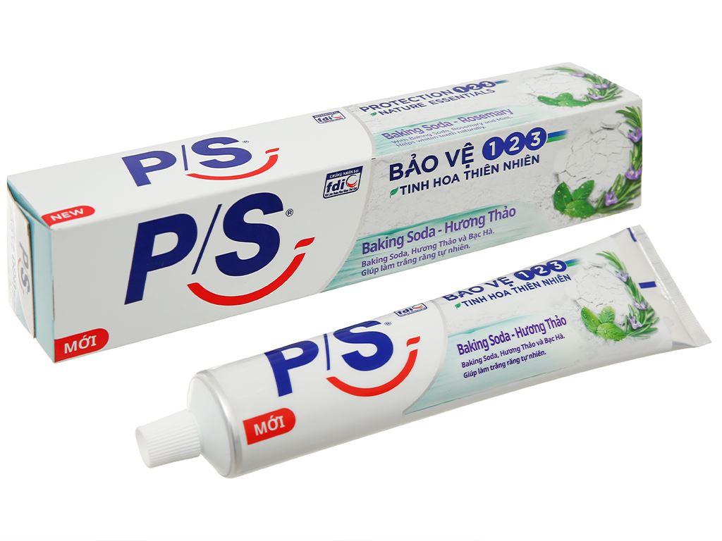 Kem đánh răng P/S bảo vệ 123 baking soda & hương thảo 230g 1