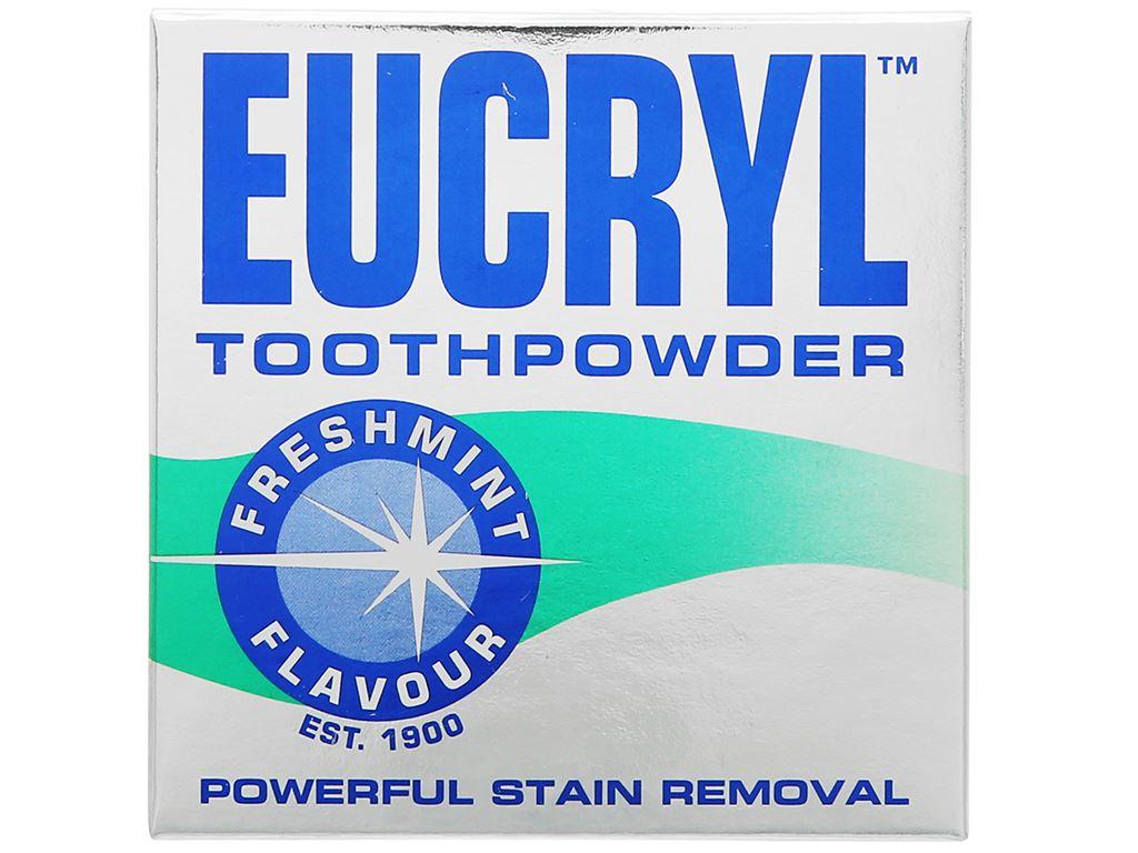 Bột đánh trắng răng Eucryl Toothpowder 50g 1