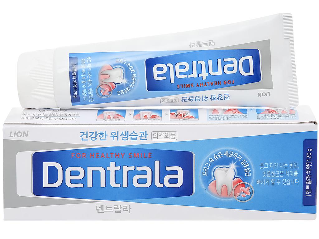 Kem đánh răng Dentrala bạc hà kháng khuẩn 120g 1