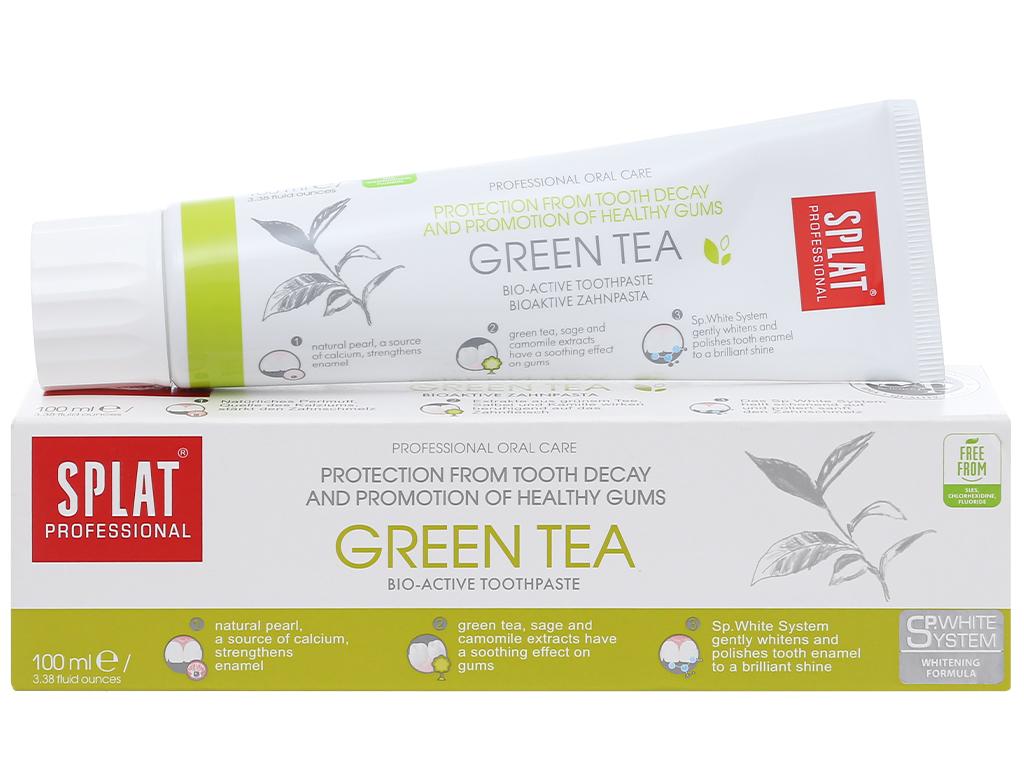 Kem đánh răng Splat thảo mộc Green Tea 100ml 1