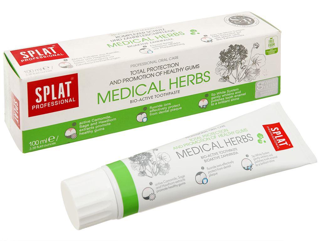 Kem đánh răng Splat thảo mộc Medical Herbs 100ml 1