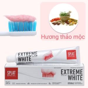 Kem đánh răng Splat thảo mộc siêu trắng 75ml