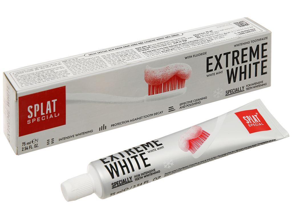 Kem đánh răng Splat thảo mộc siêu trắng 75ml 1