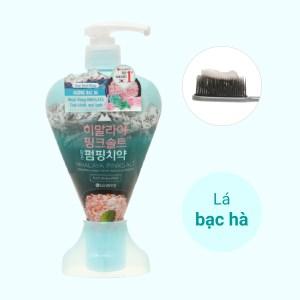 Kem đánh răng Bamboo Salt muối hồng Himalaya hương bạc hà 285g