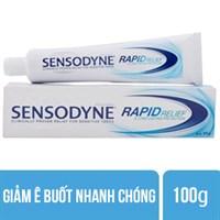 Kem đánh răng Sensodyne Rapid Relief Giảm ê buốt nhanh 100g