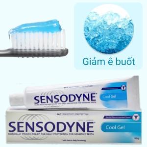 Kem đánh răng Sensodyne Cool Gel giảm ê buốt 24/7 100g
