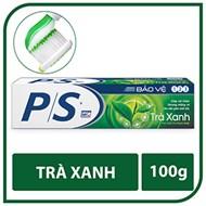 Kem đánh răng P/S bảo vệ 123 Trà Xanh 100g