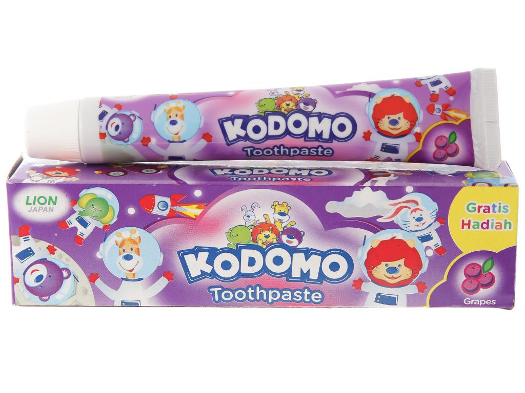 Kem đánh răng cho bé Kodomo hương nho 45g 2