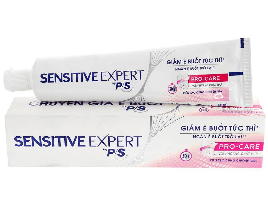 Kem đánh răng P/S Sensitive Expert giảm ê buốt 100g 1