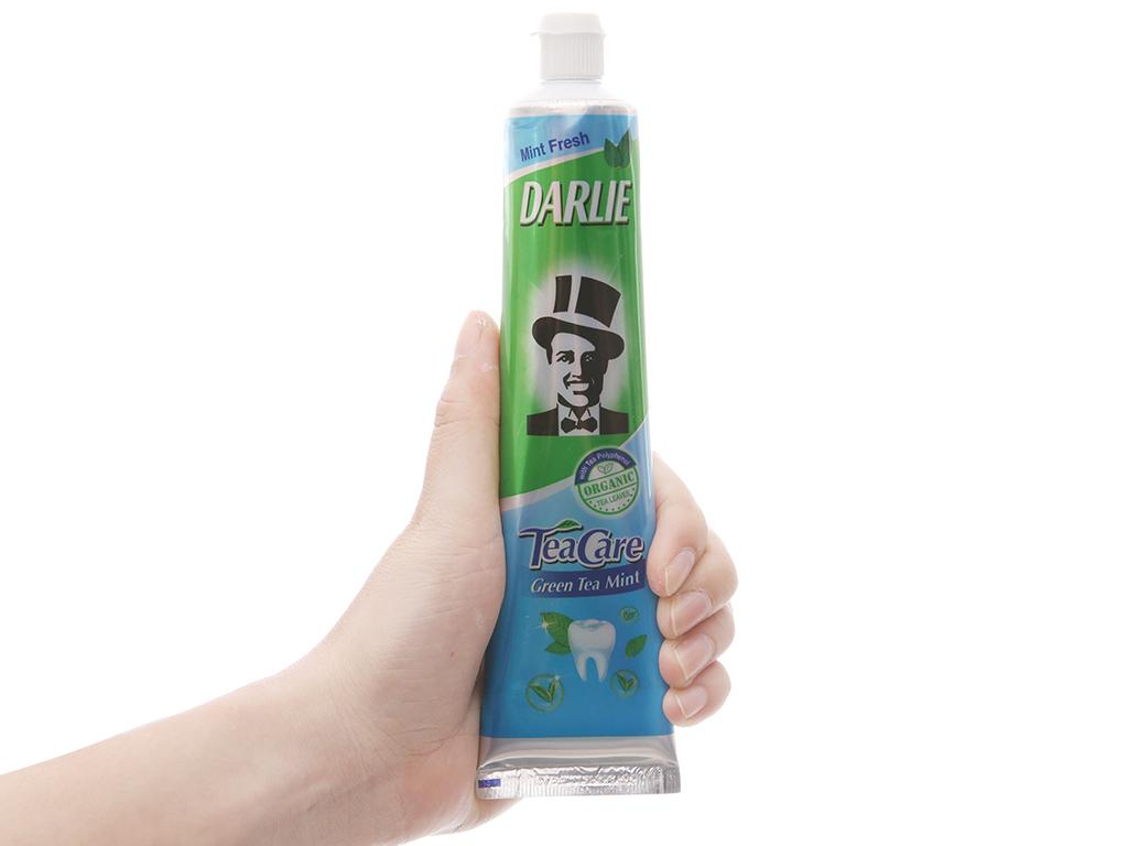 Kem đánh răng Darlie TeaCare Mint trà xanh bạc hà 160g 5