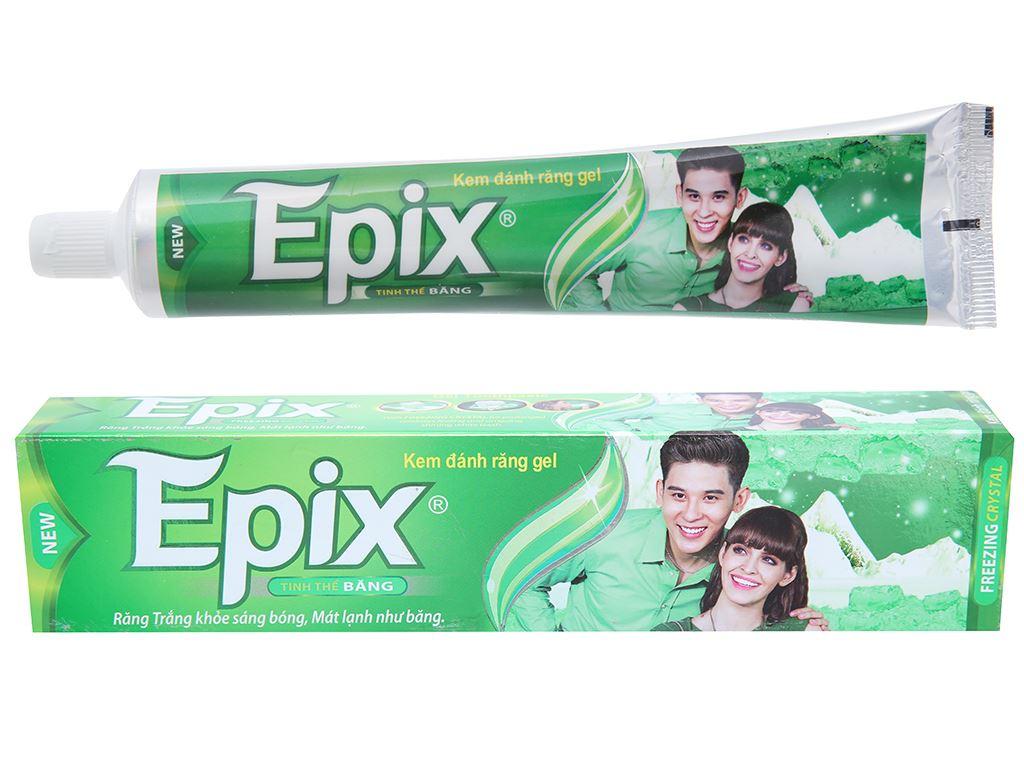 Kem đánh răng Epix tinh thể băng 200g 1