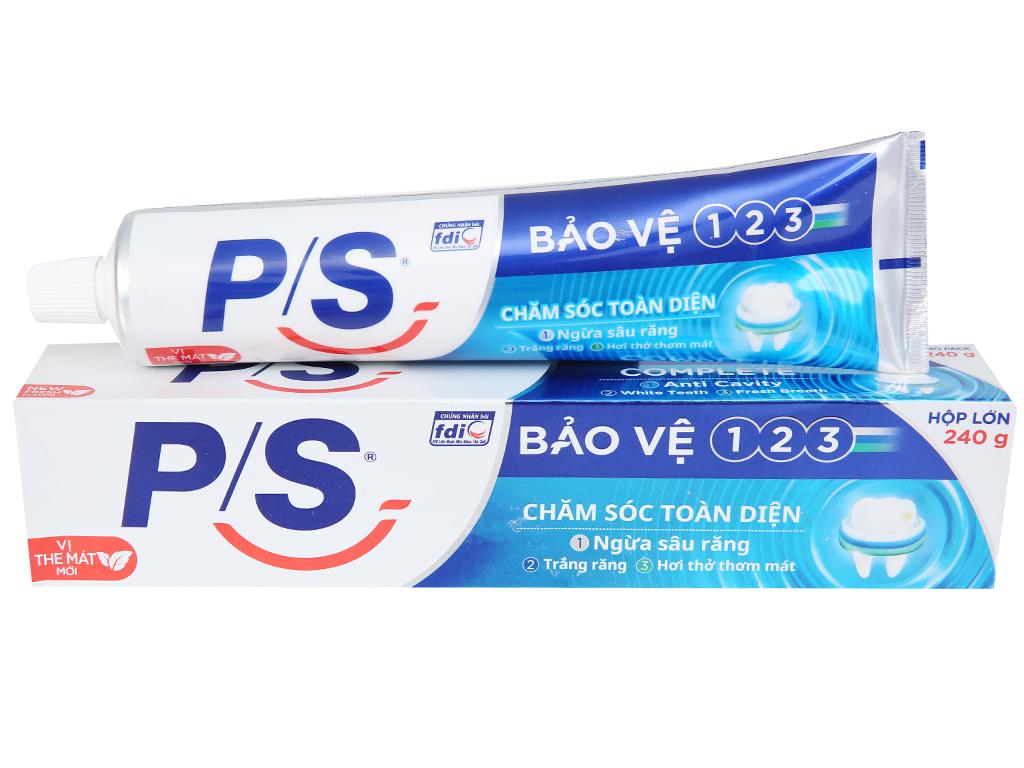 Kem đánh răng P/S bảo vệ 123 chăm sóc toàn diện 240g 1