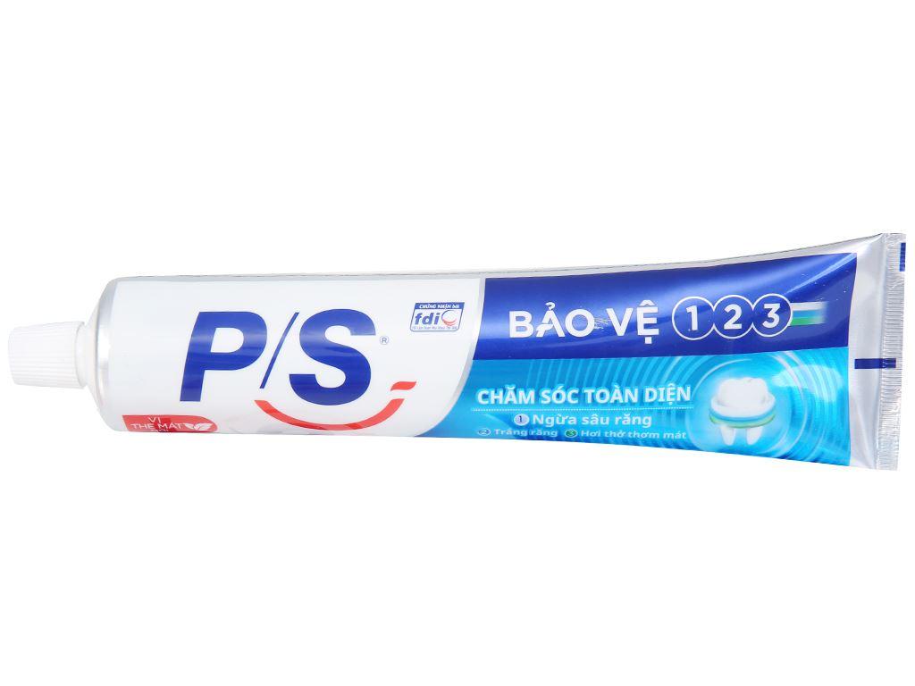 Kem đánh răng P/S bảo vệ 123 chăm sóc toàn diện 240g 11