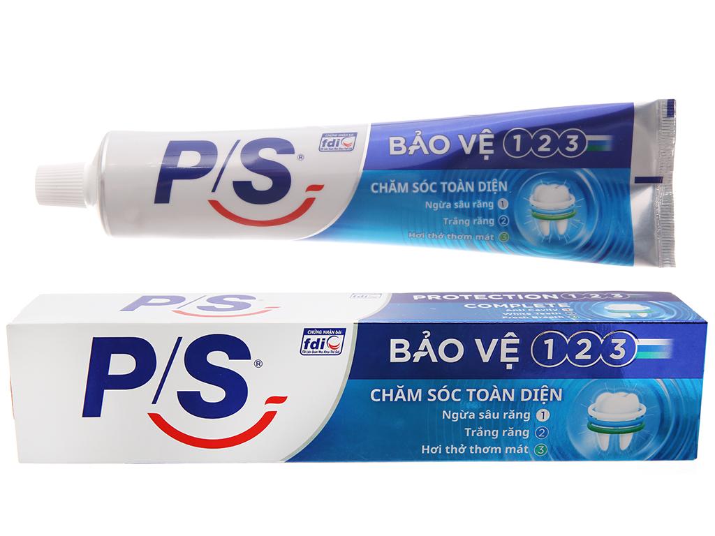 Kem đánh răng P/S Bảo vệ 123 chăm sóc toàn diện 240g 2