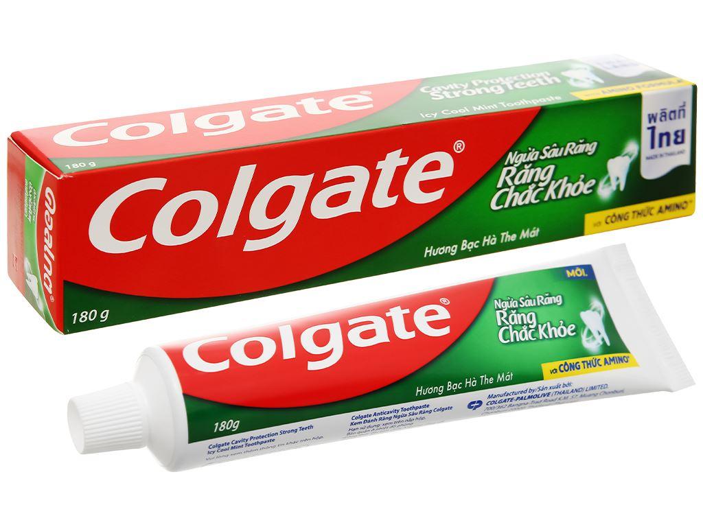 Kem đánh răng Colgate ngừa sâu răng chắc khoẻ 200g 1