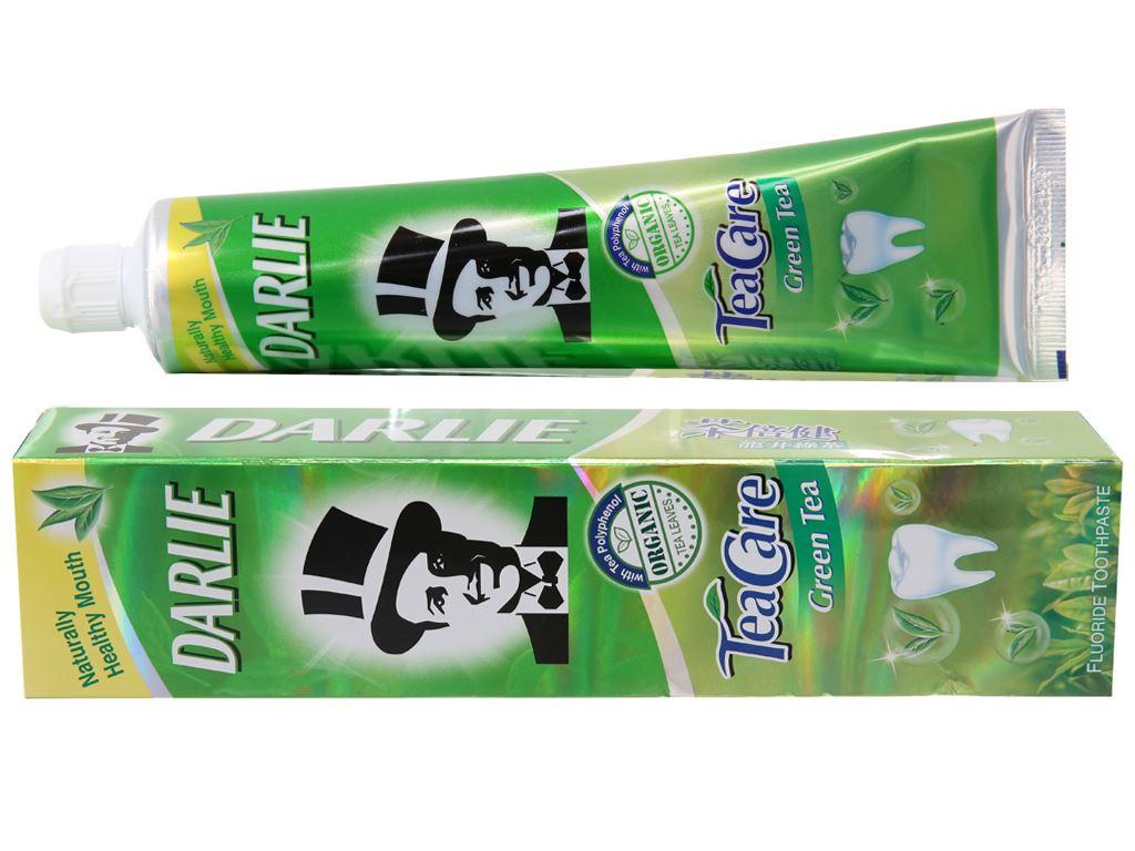 Kem đánh răng Darlie TeaCare trà xanh thơm mát 160g 2
