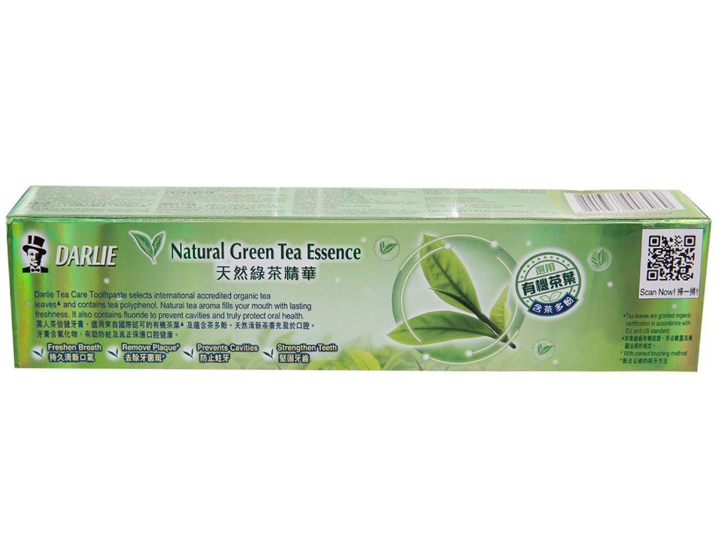Kem đánh răng Darlie TeaCare trà xanh thơm mát 160g 3