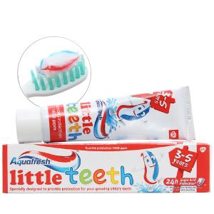 Kem đánh răng cho bé Aquafresh Little teeth 3-5 tuổi 50ml