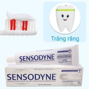 Kem đánh răng Sensodyne trắng răng tự nhiên 100g