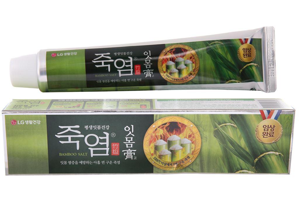 Kem đánh răng Bamboo Salt chăm sóc nướu 140g 2