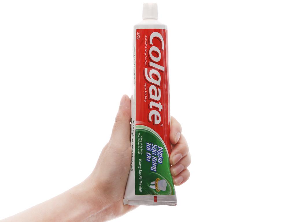 Kem đánh răng Colgate ngừa sâu răng tối đa 250g 5