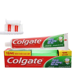 Kem đánh răng Colgate ngừa sâu răng tối đa 250g
