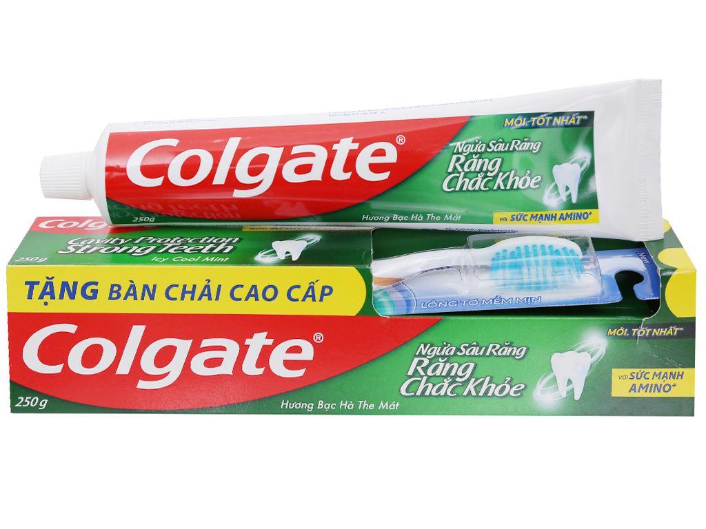 Kem đánh răng Colgate ngừa sâu răng chắc khoẻ 250g 6
