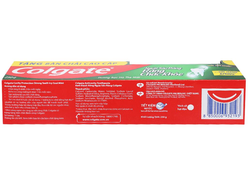Kem đánh răng Colgate ngừa sâu răng chắc khoẻ 250g 8