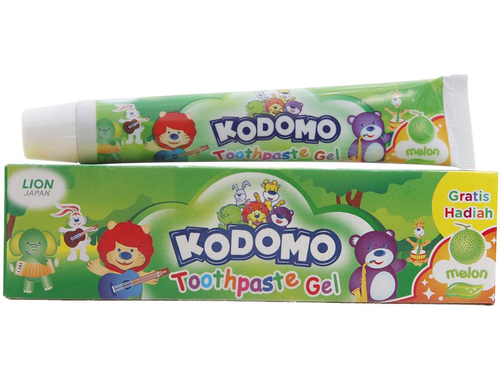 Kem đánh răng cho bé Kodomo hương dưa gang 45g 2