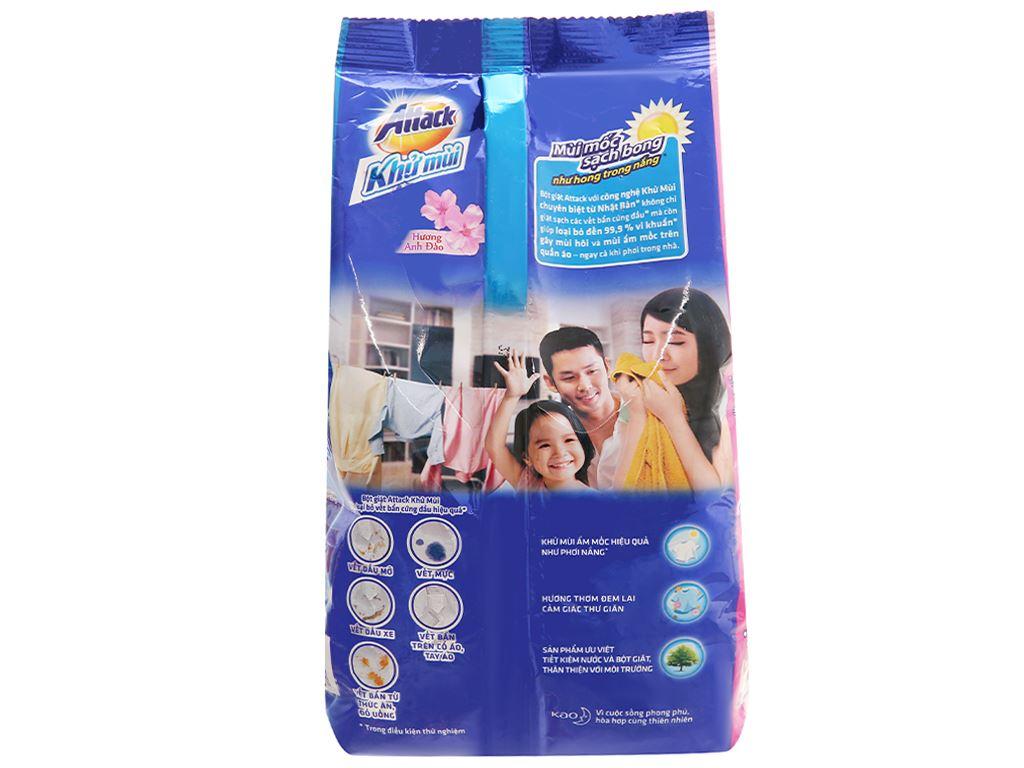 Bột giặt Attack khử mùi hương anh đào 720g 2