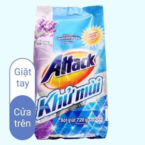 Attack khử mùi hương oải hương 720g