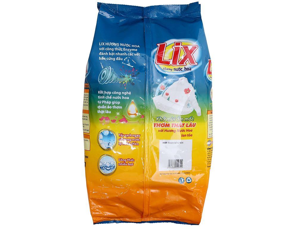 Bột giặt Lix hương nước hoa 5.5kg 3