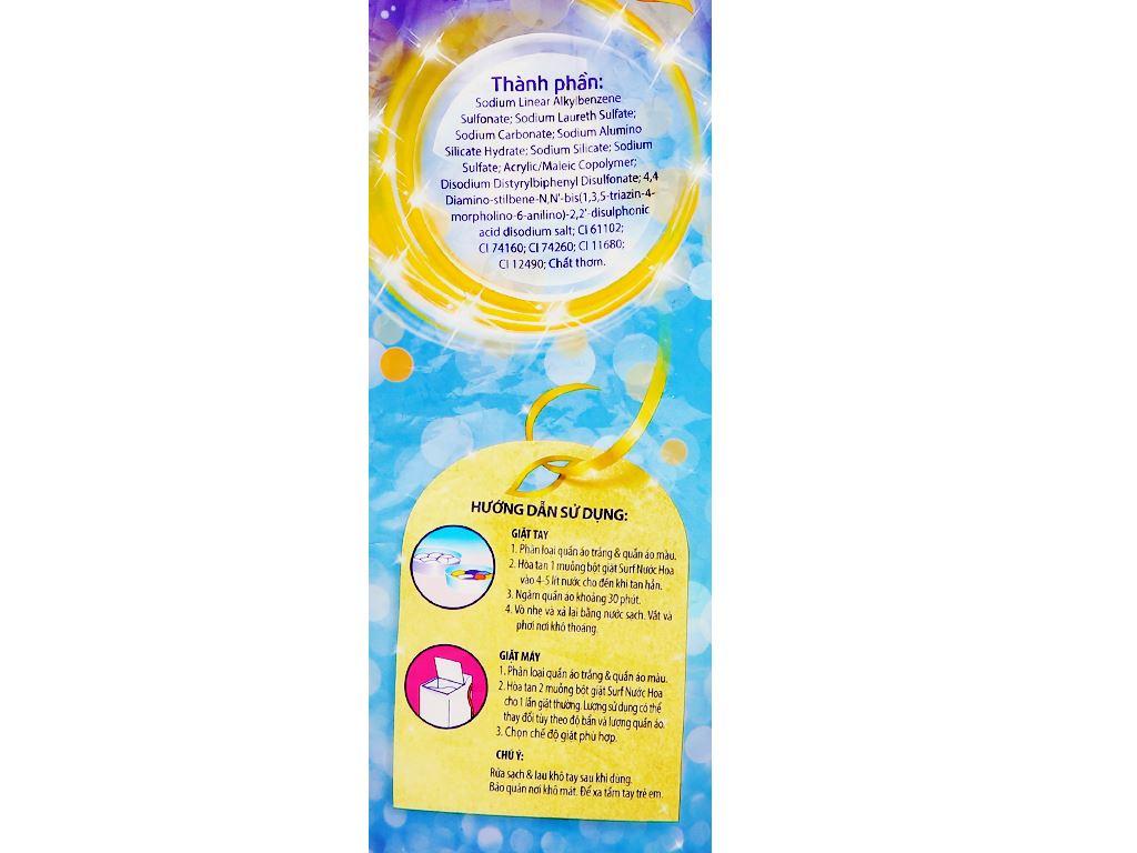 Bột giặt Surf hương nước hoa quyến rũ 5.5kg 3