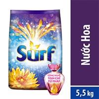 Bột Giặt Surf Nước Hoa Gold Quyến Rũ túi 5,5 kg