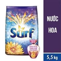 Bột Giặt Surf Nước Hoa Gold Duyên Dáng túi 5,5 kg