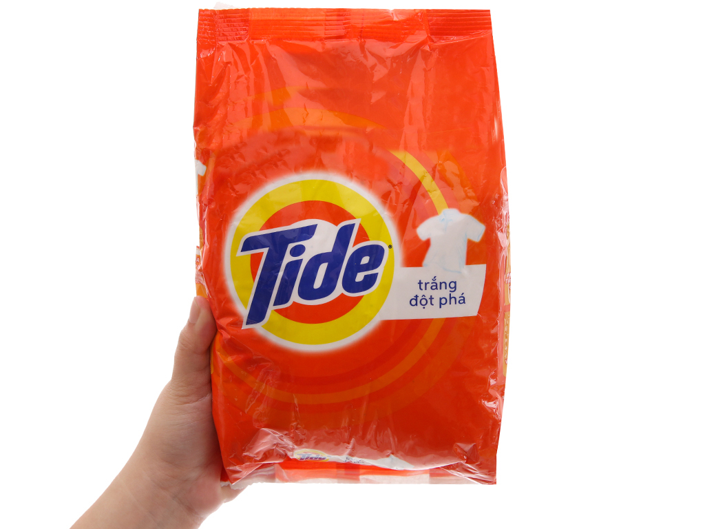 Bột giặt Tide Trắng đột phá 720g 5
