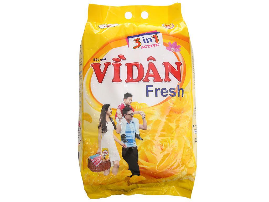 Bột giặt Vì Dân Fresh 6kg 2