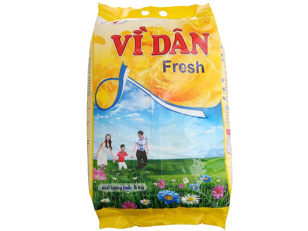 Bột giặt Vì Dân Fresh 6kg 3