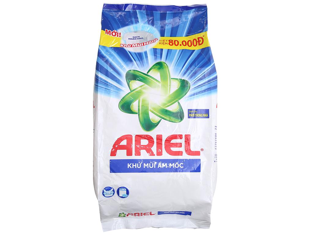 Bột giặt Ariel khử mùi ẩm mốc 5kg 2