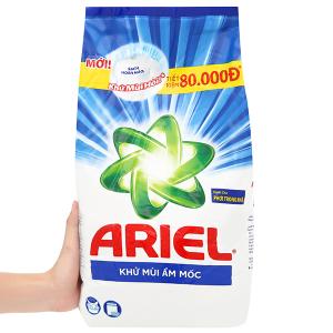 Bột giặt Ariel khử mùi ẩm mốc 5kg