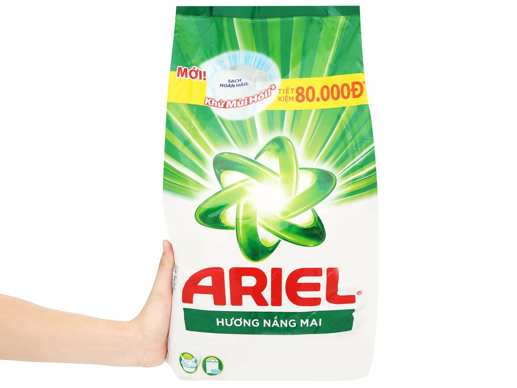 Bột giặt Ariel hương nắng mai 5.5kg 6