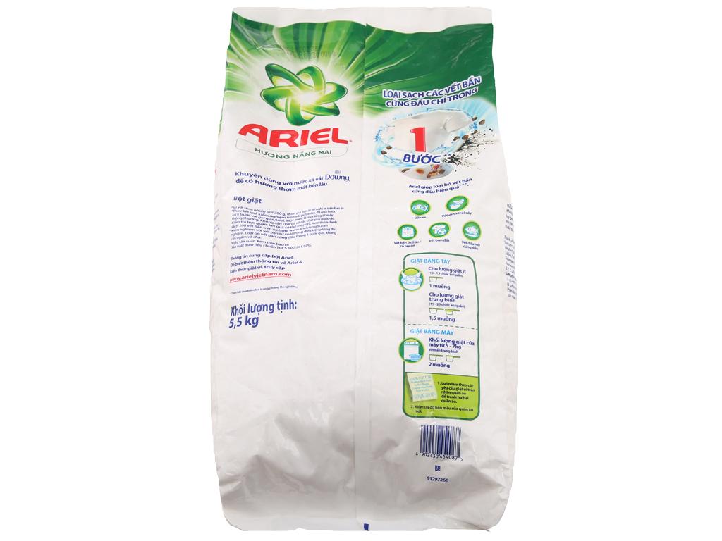 Bột giặt Ariel hương nắng mai 5.5kg 3