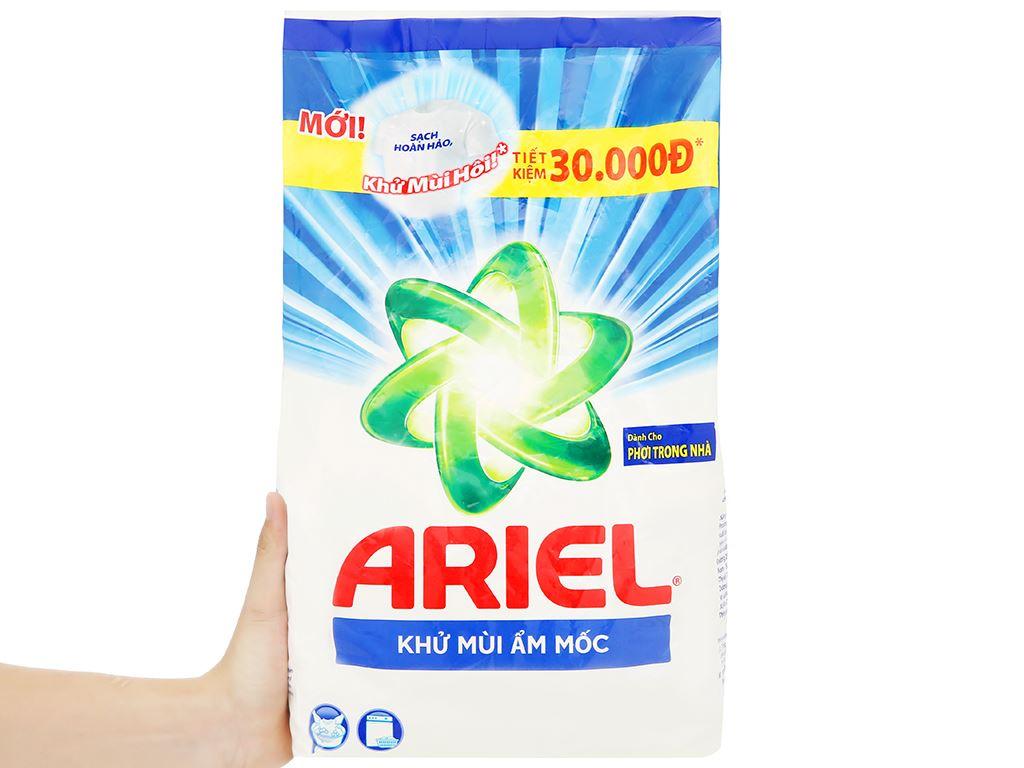 Bột giặt Ariel khử mùi ẩm mốc 2.5kg 6