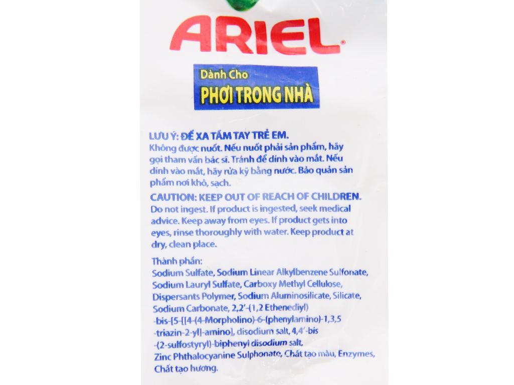Bột giặt Ariel Khử mùi ẩm mốc 330g 3