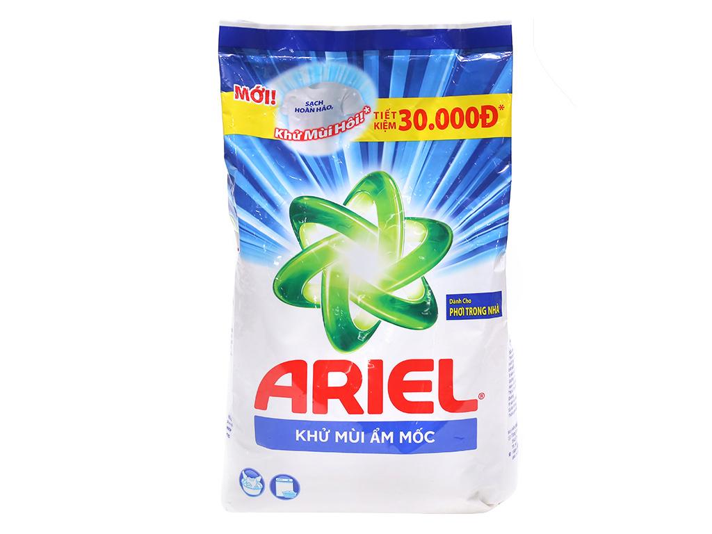 Bột giặt Ariel khử mùi ẩm mốc 2.5kg 1