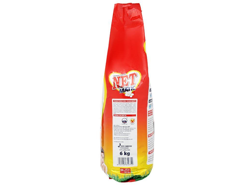 Bột giặt NET Matic hương nước hoa thiên nhiên 6kg 5