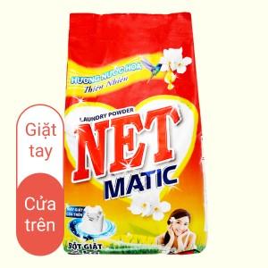 Bột giặt NET Matic hương nước hoa thiên nhiên 6kg