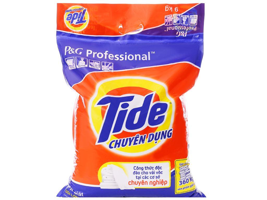 Bột giặt Tide chuyên dụng 9kg 1