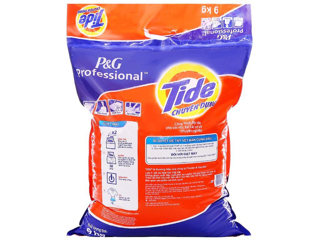 Bột giặt Tide chuyên dụng 9kg 2