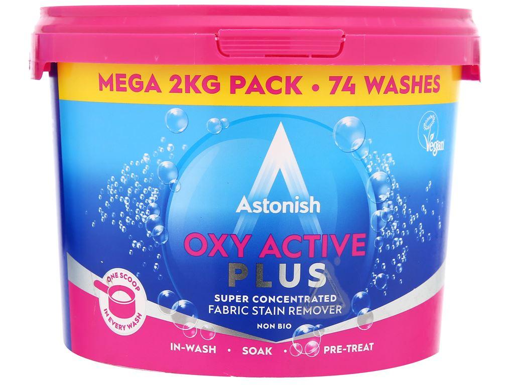 Bột giặt Astonish Oxy Active Plus 2kg 1